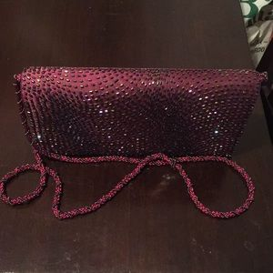 Very attractive beaded purse by La Regale